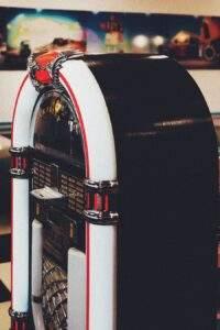 jukebox som underholdning til fødselsdag