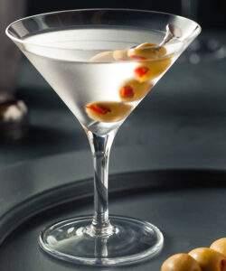 gin martini drink til bryllup