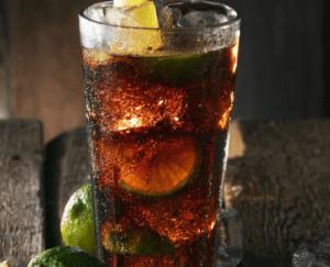 rom og cola.