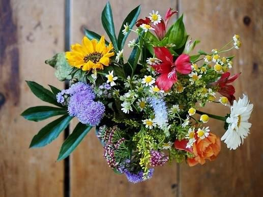 smukke blomster konfirmation